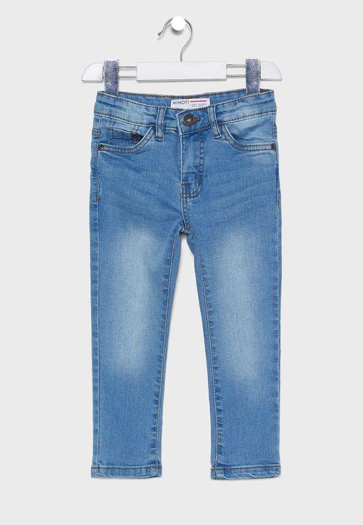 Little Mid Wash Regular Jeans