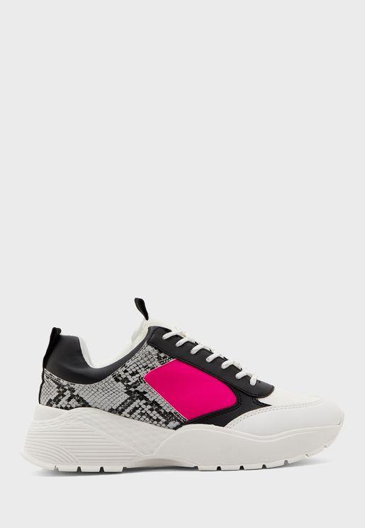Tallulah Chunky Neon Mix Sneaker