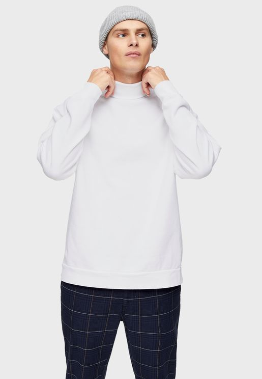Turtle Neck Sweatshirt