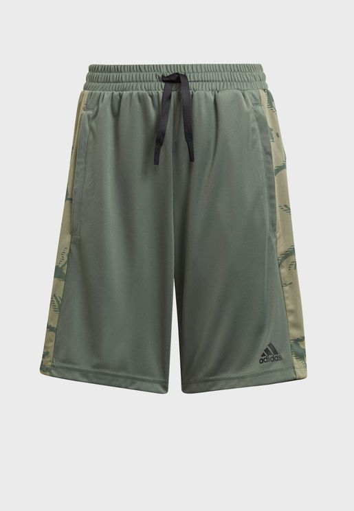 Youth Camo Shorts