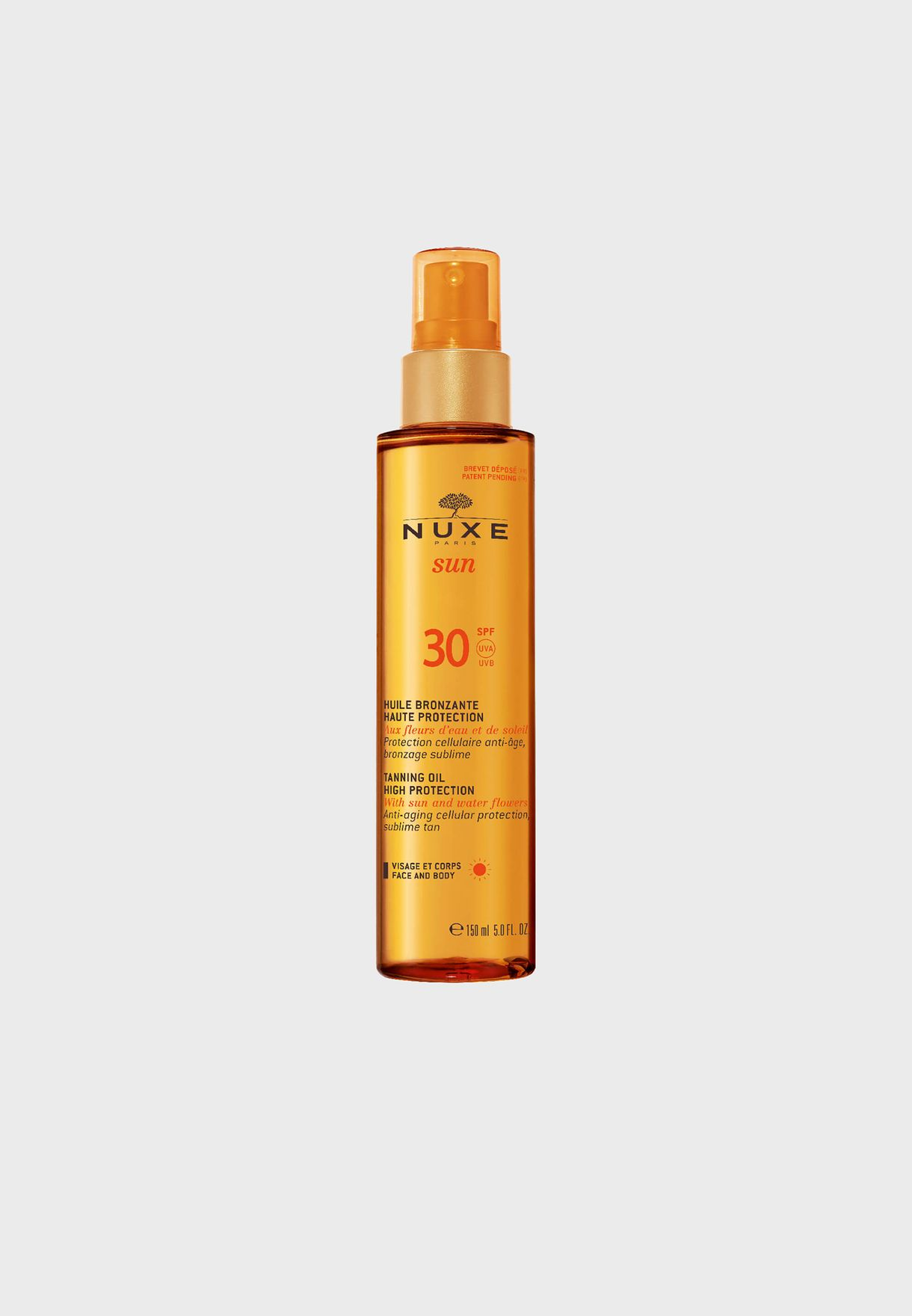 Tanning Oil High Protection SPF-30