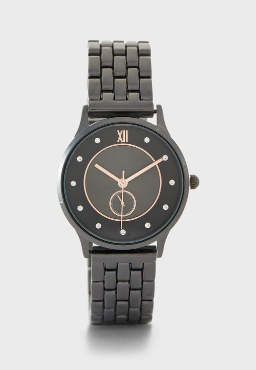 Watch with Subdial Detail