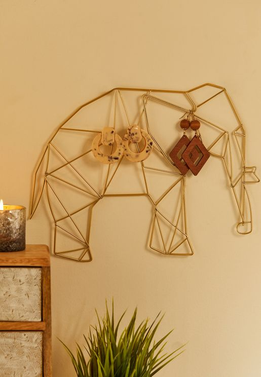 Elephant Wire Decor