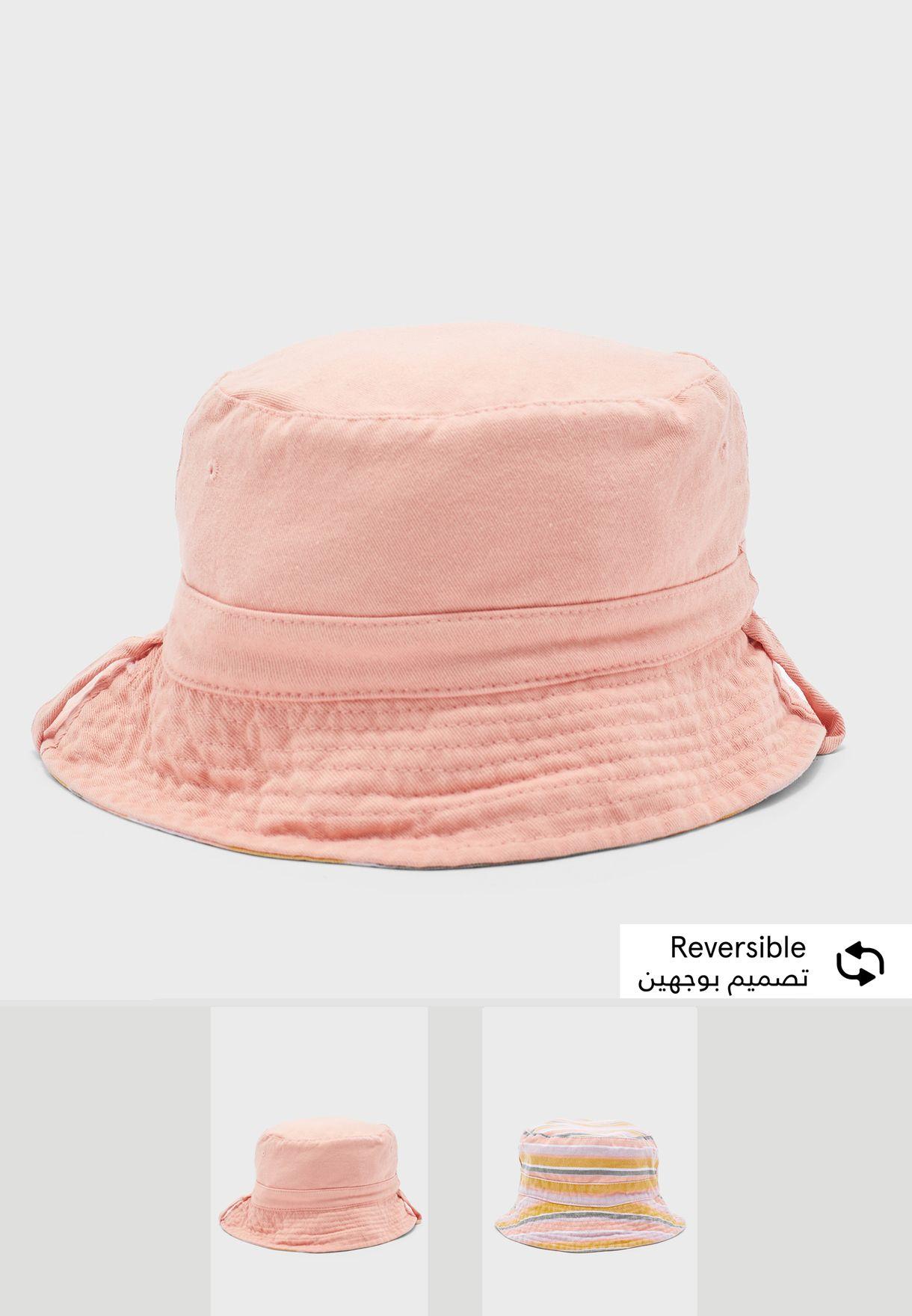 قبعة تلبس على الوجهين للاطفال