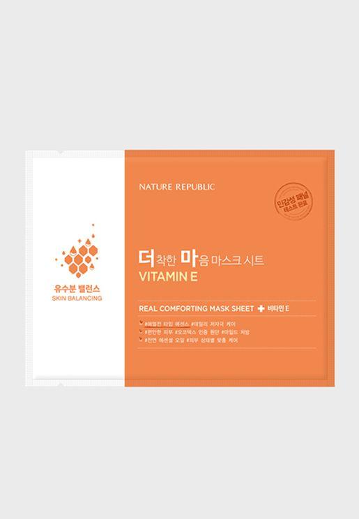 Real Comforting Mask Sheet Vitamin E