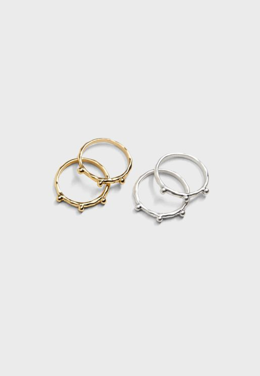 Lucie Rings Set