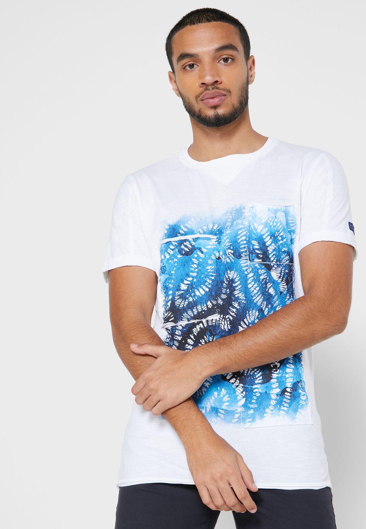 Graphic Crew Neck T-Shirt