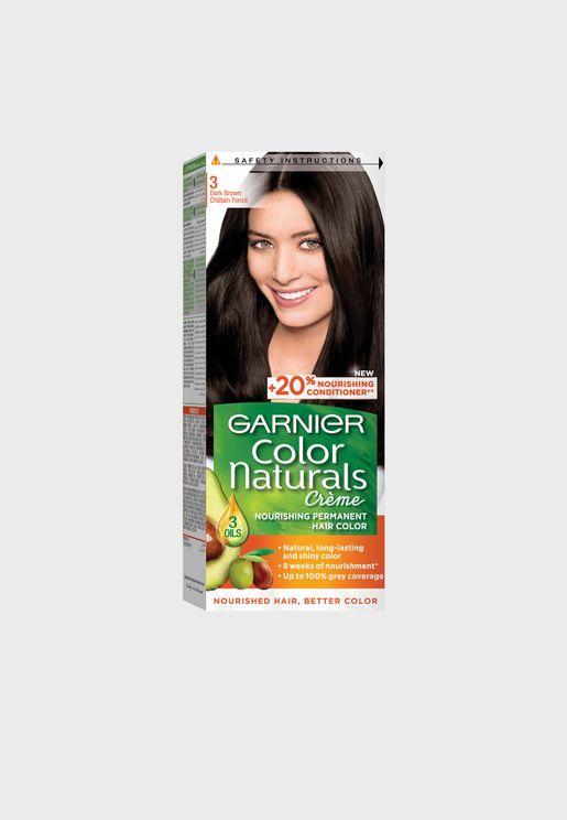 Color Naturals Hair Color Dark Brown - 3