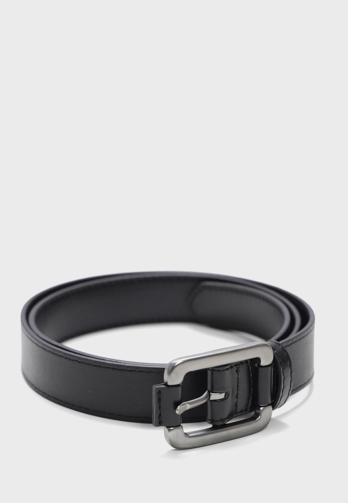 حزام بابزيم مربع الشكل