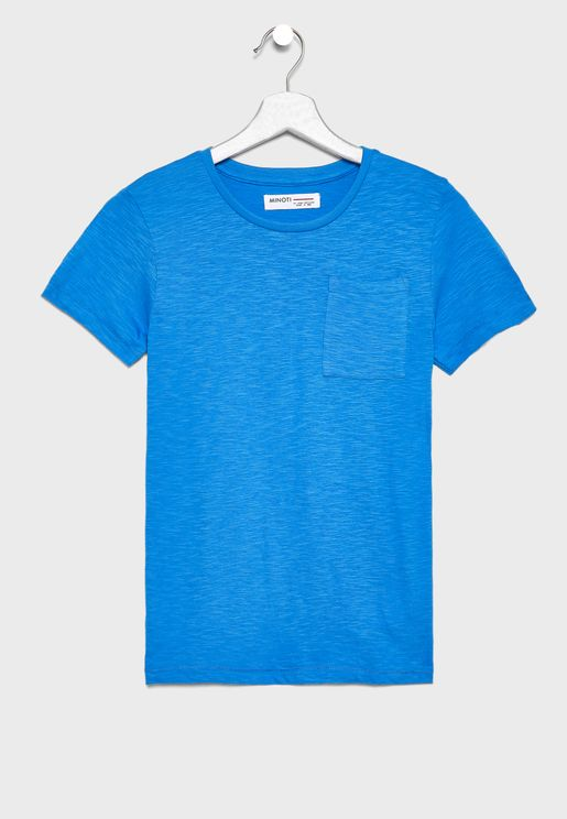 Kids Pocket Detail T-Shirt