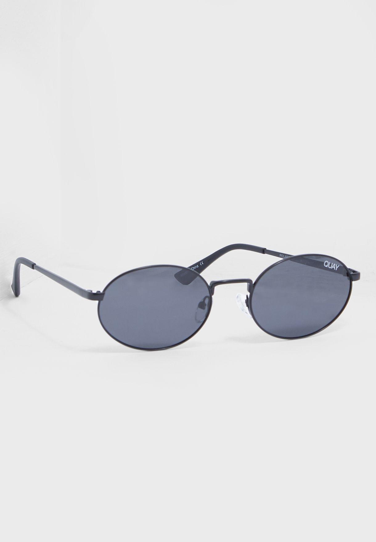 eb2e44dde Shop Quay Australia black Autopilot Sunglasses QM-000500-BLK/SMK for ...