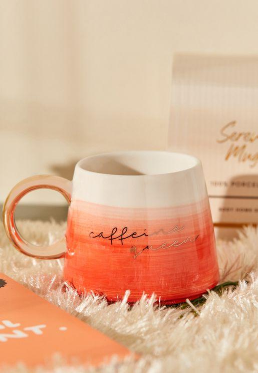 Serene Caffeine Color Block Mug