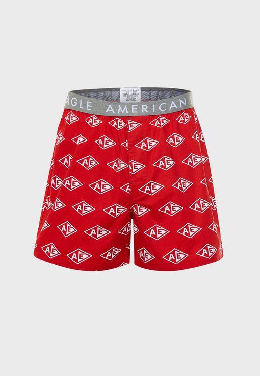 Diamond Pattern Boxers