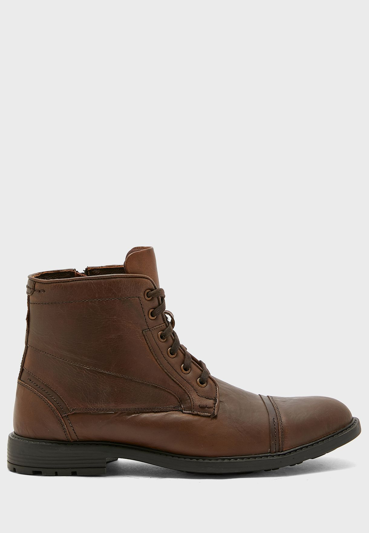 Genuine Leather Casual Boots