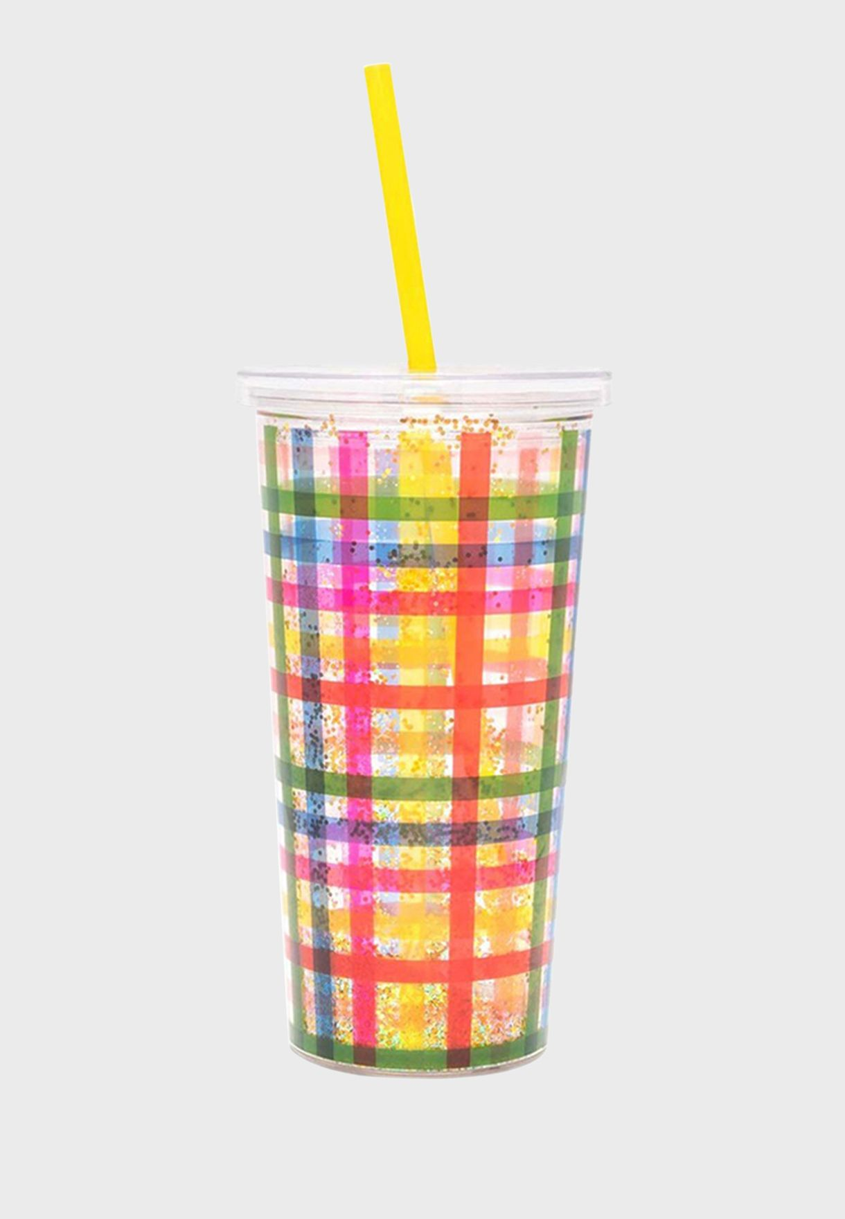 Block Party Sip Sip Tumbler With Straw
