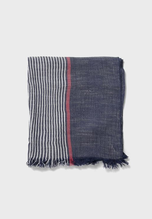 Kids Striped Scarf