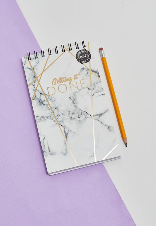 Marble Flip Out  Notebook