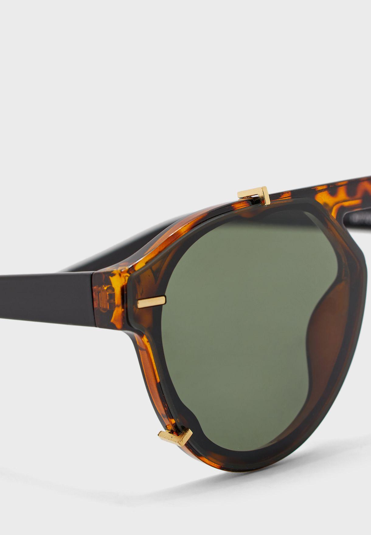 Casual Round Sunglasses