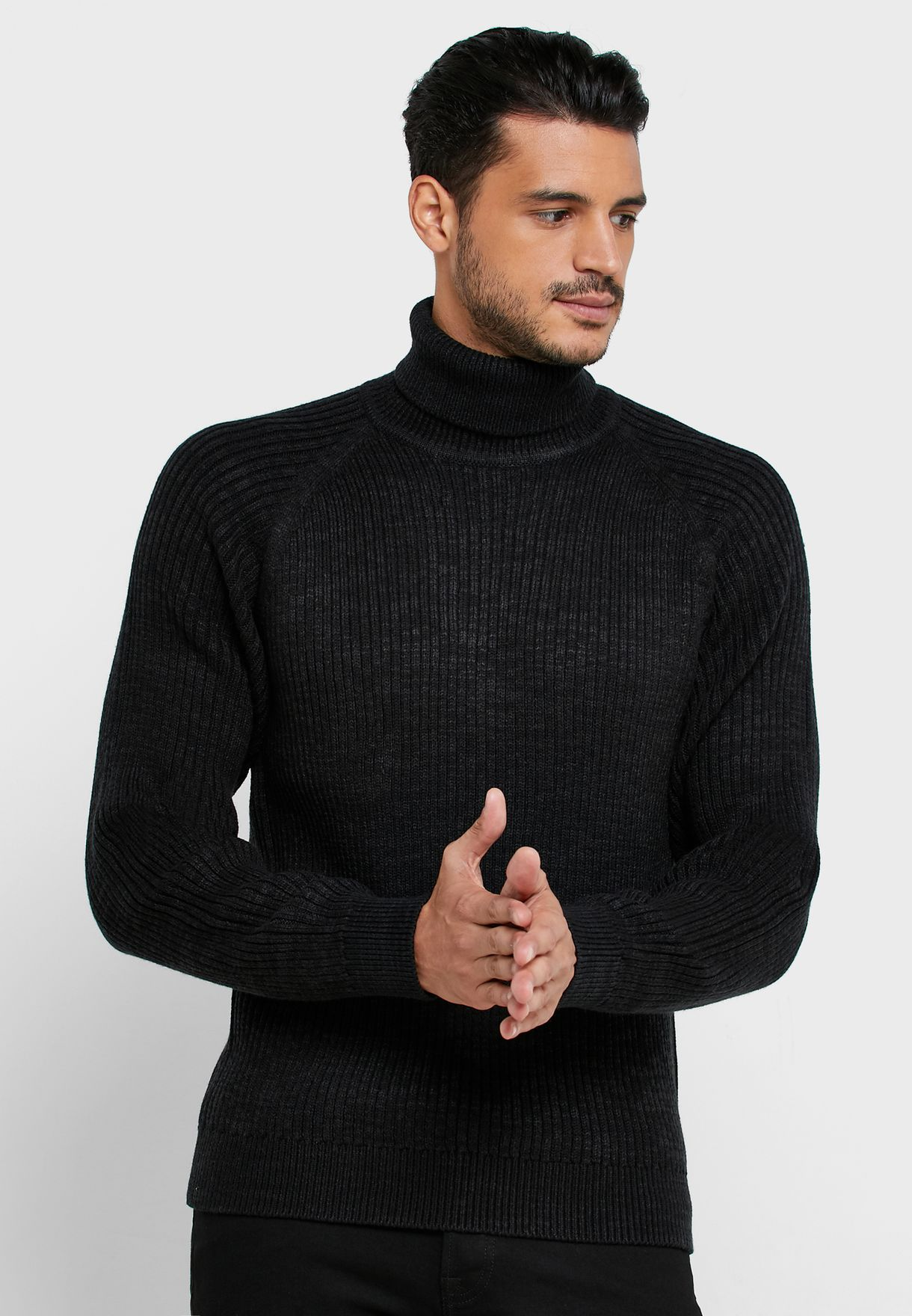 Eric Roll Neck Sweater