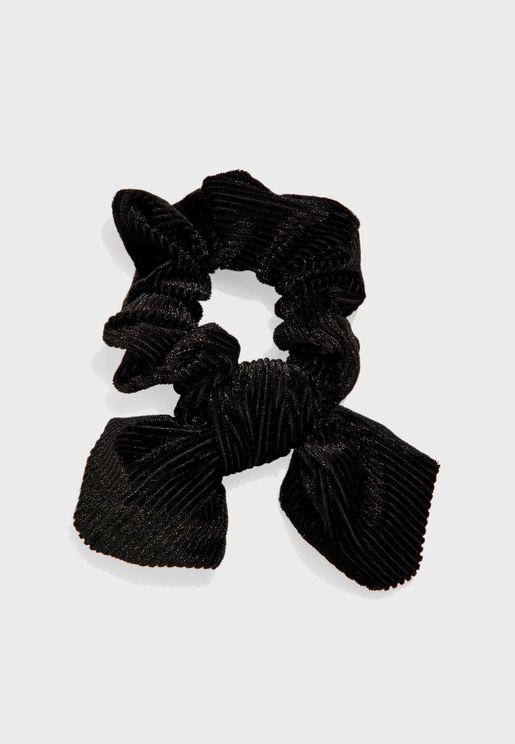 ربطة شعر مخملية