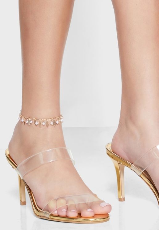 Pearl Detail Anklet