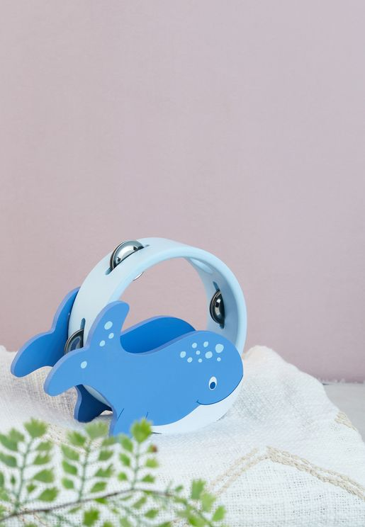 Toy Whale Tambourine