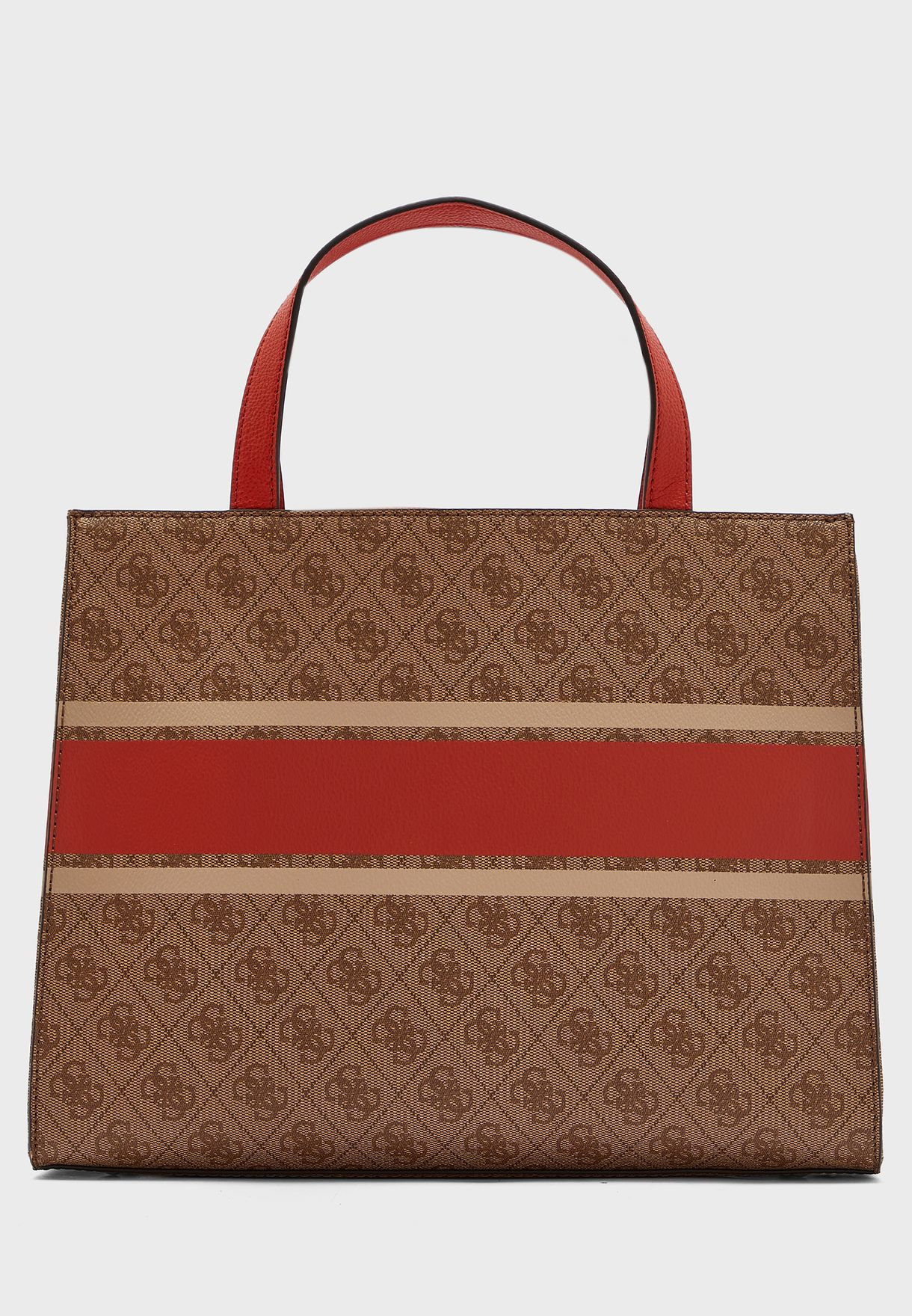 Monique Logo Printed Tote