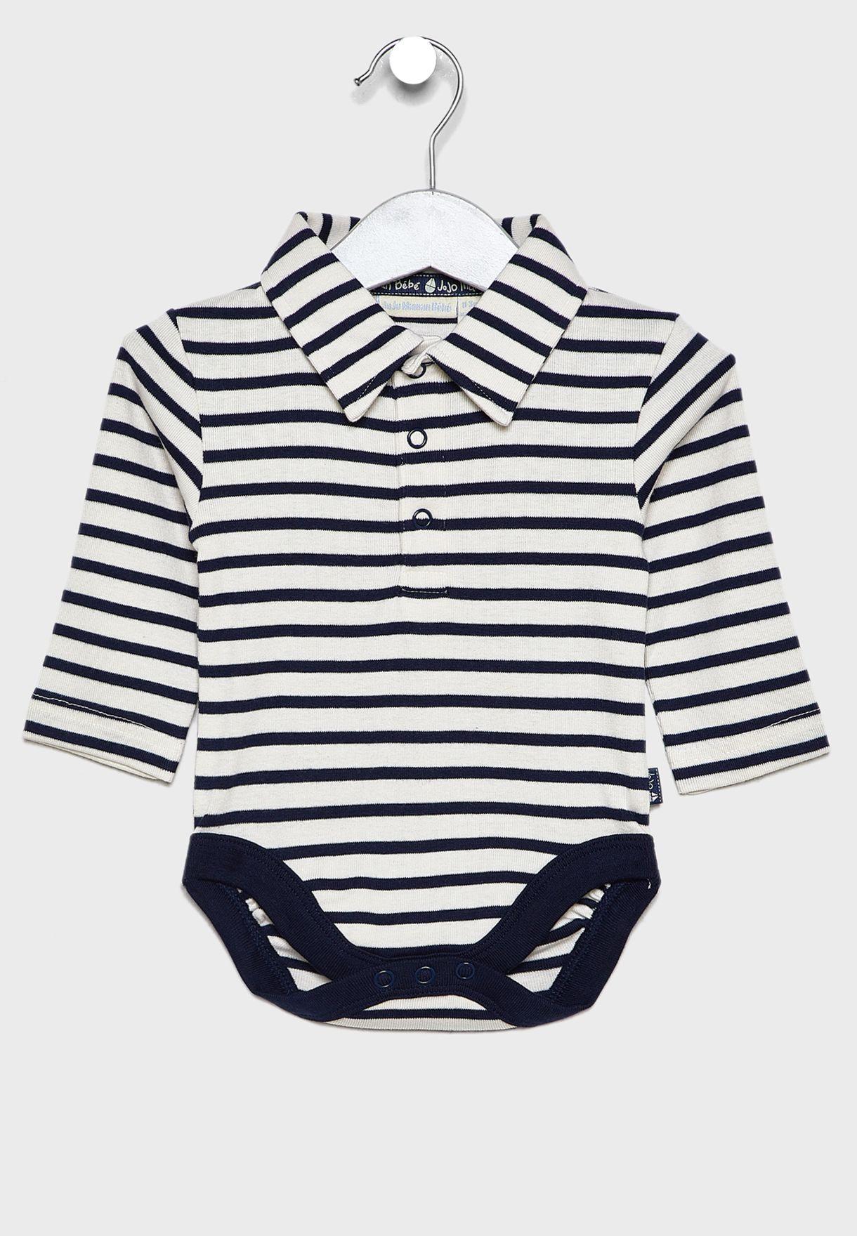 Kids Polo Bodysuit