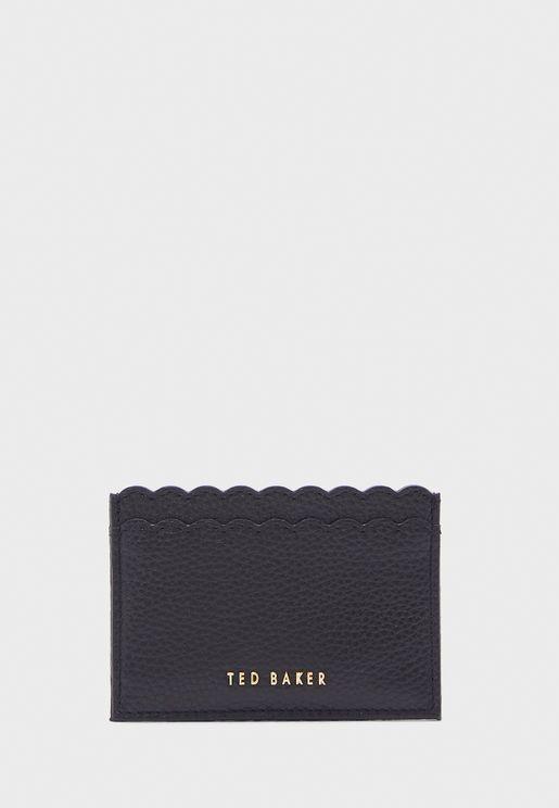 محفظة جلد اصلي للبطاقات الشخصية