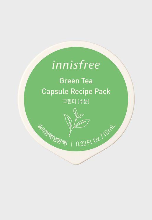 عبوة كبسولة شاي اخضر للبشرة - 10 مل