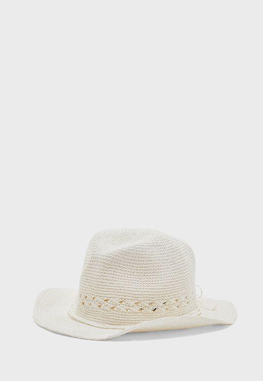 Kapelusz Woven Panama Hat