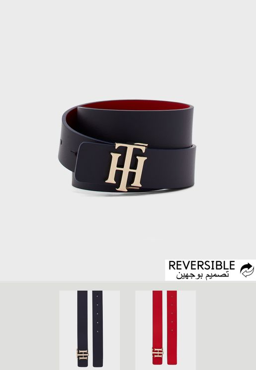 Reversible Allocated Hole Belt