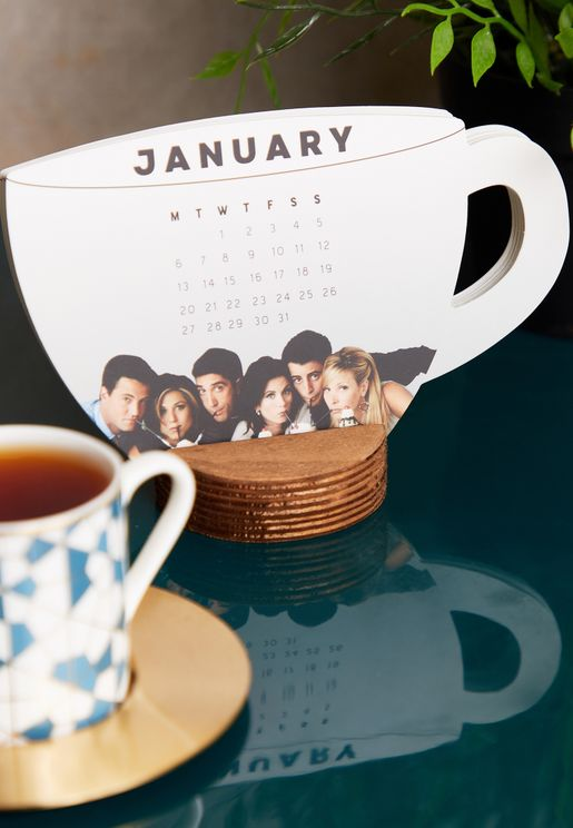 Friends Mug Shaped 2020 Calendar