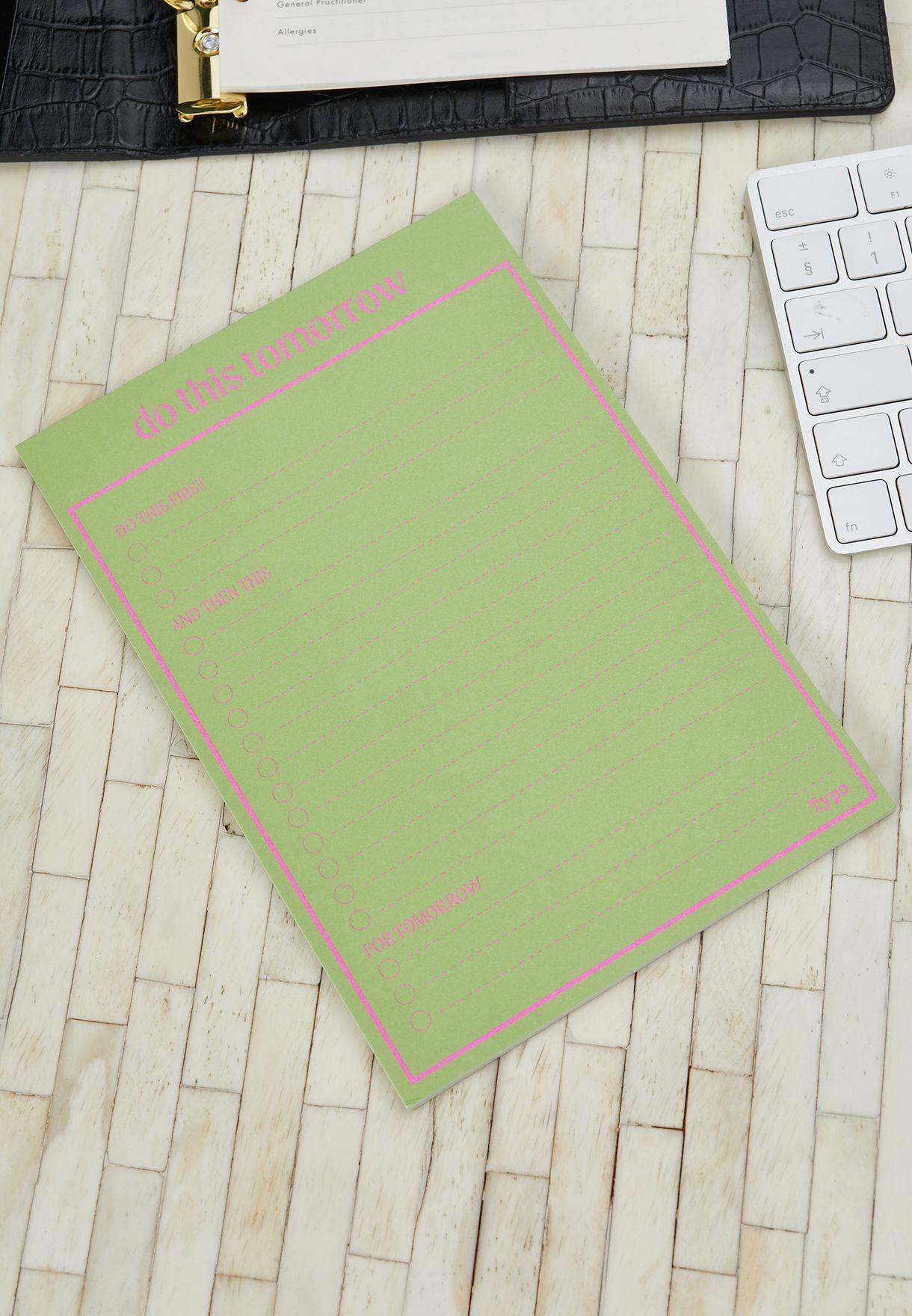 3 Pack Daisy Notepad