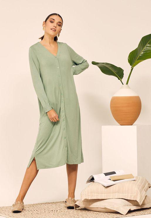Loungewear Midi Dress