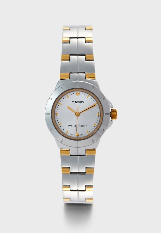 LTP-1242SG-7CDF Analog Watch