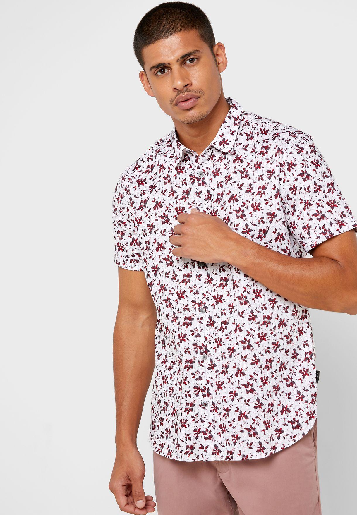 قميص سلم فيت بطبعات