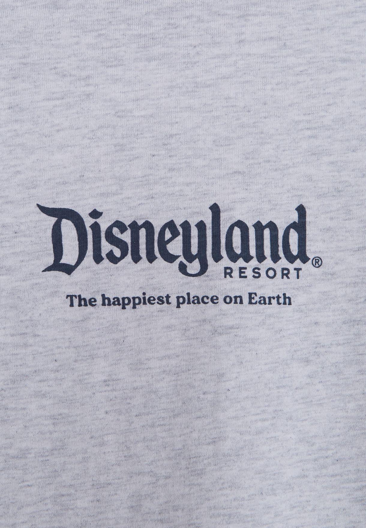 Youth Disneyland Map T-Shirt