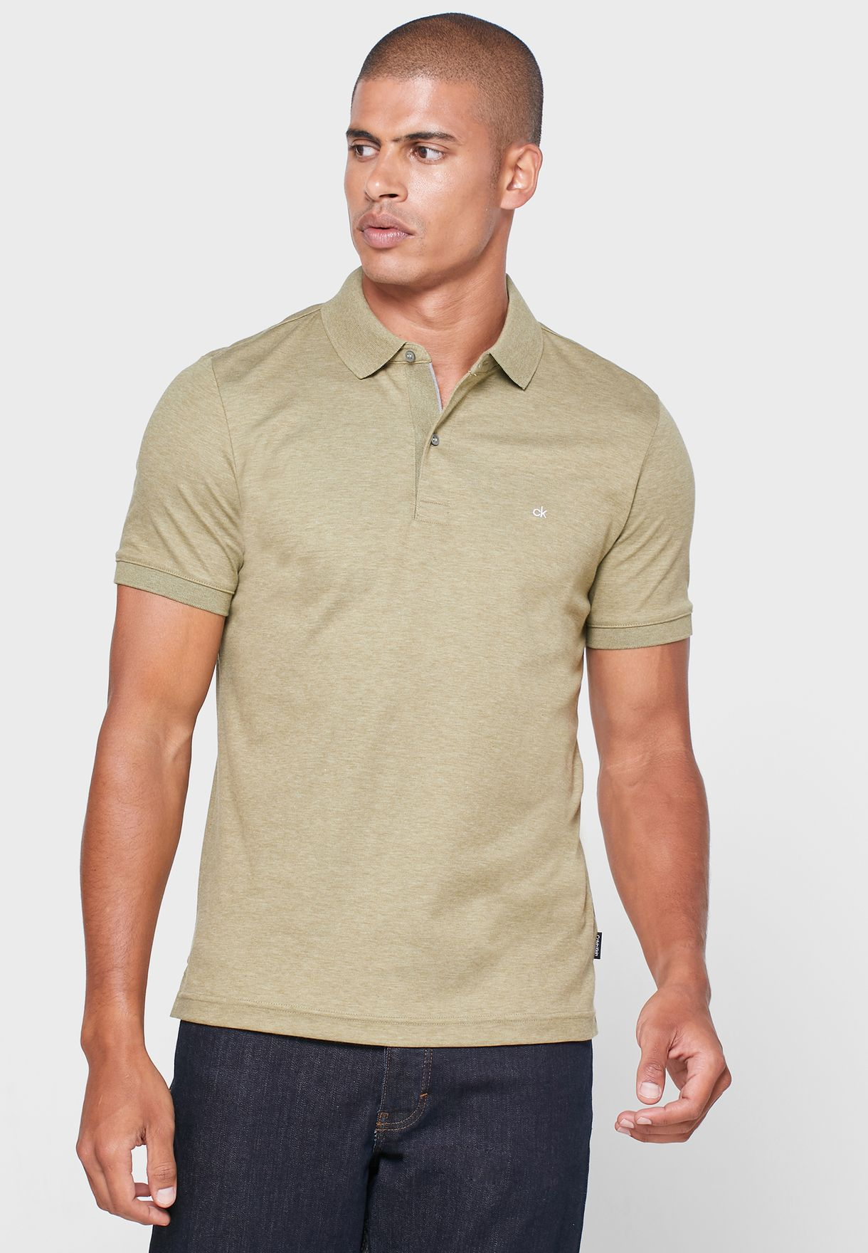 Essential Slim Fit Polo