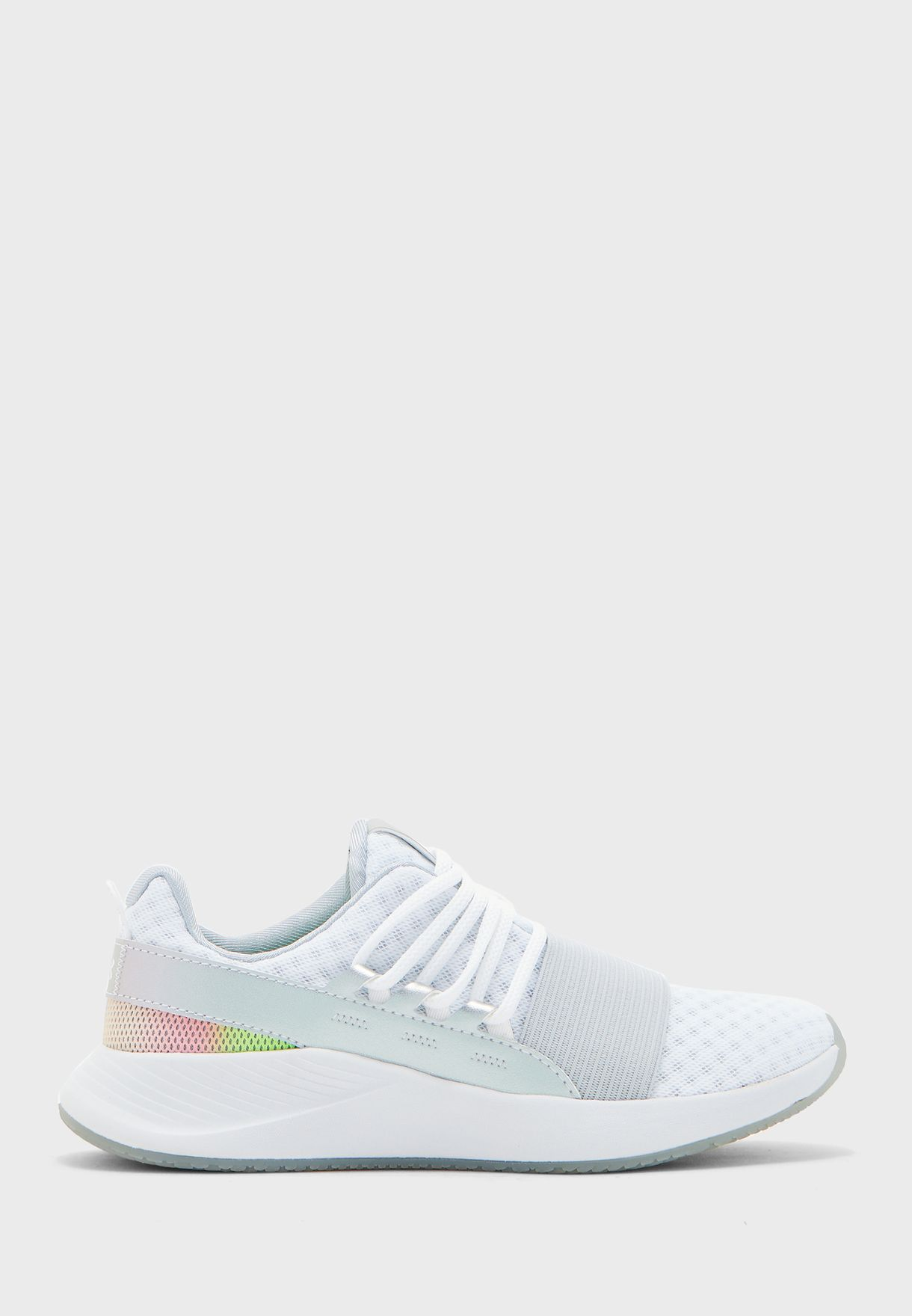 under armour charged white