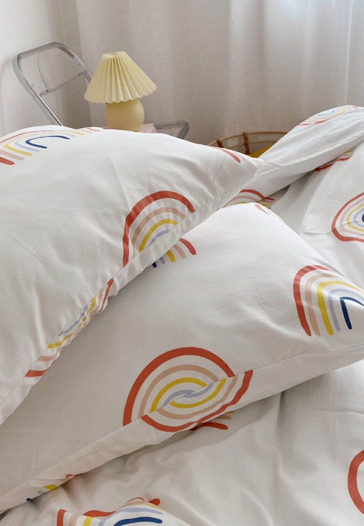 Rainbow Print Bedding Set - Double 200x200cm
