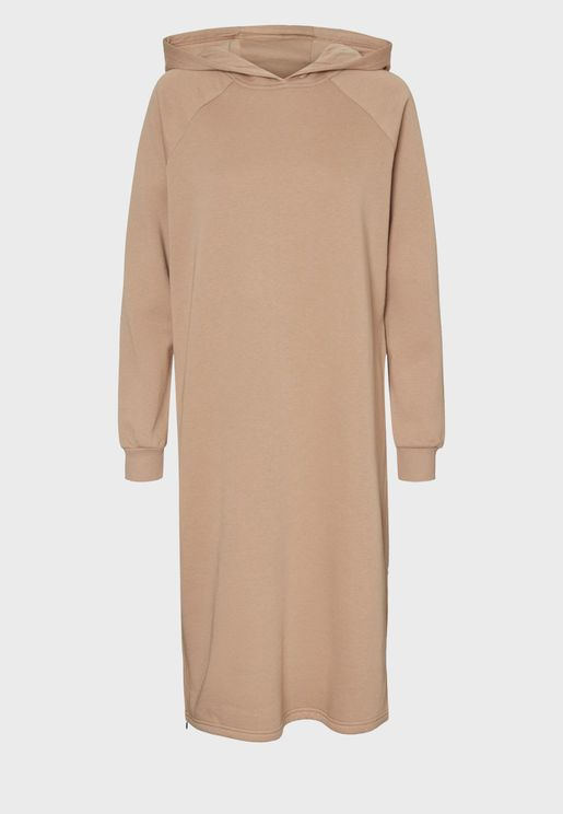 Hodded Sweat Dress