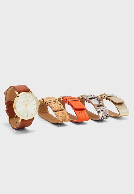 Nydelille Multistrap Watch