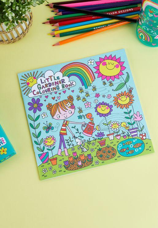 Little Gardener Colouring Book