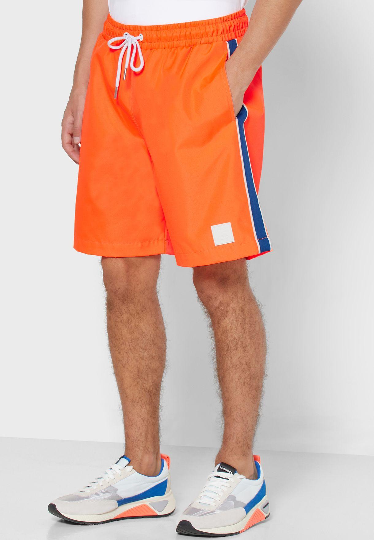 Drawstring Inner Mesh Shorts
