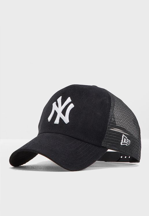 93e2de1cea7 9Forty New York Yankees Trucker Cap