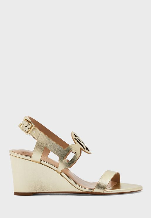 Amilea Ankle Strap Wedge Sandal
