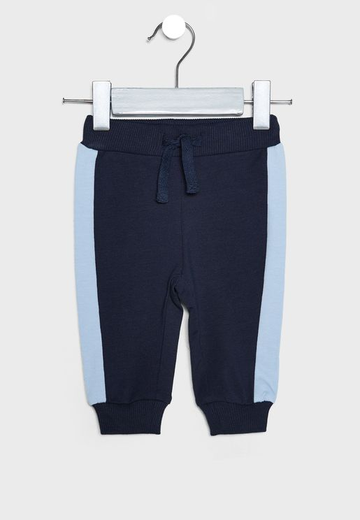 Infant Side Tape Sweatpants