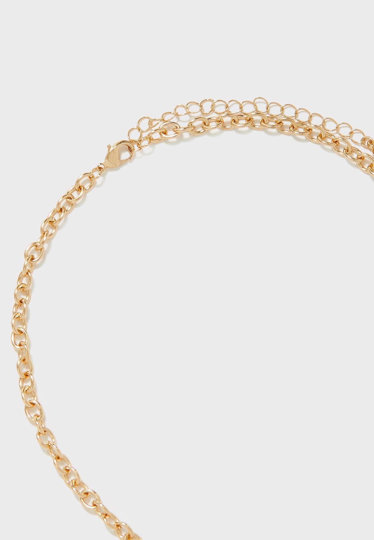 Legiravia Necklace + Pierced Earrings Set