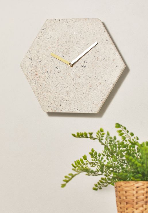 Mimo Hexagon Clock